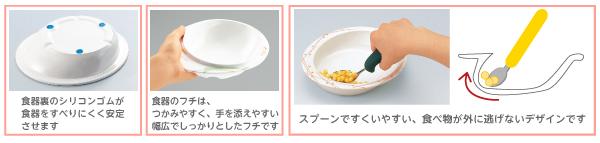 ユニバーサルデザイン食器